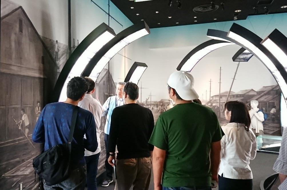 「津波・高潮ステーション」の見学に行ってきました!
