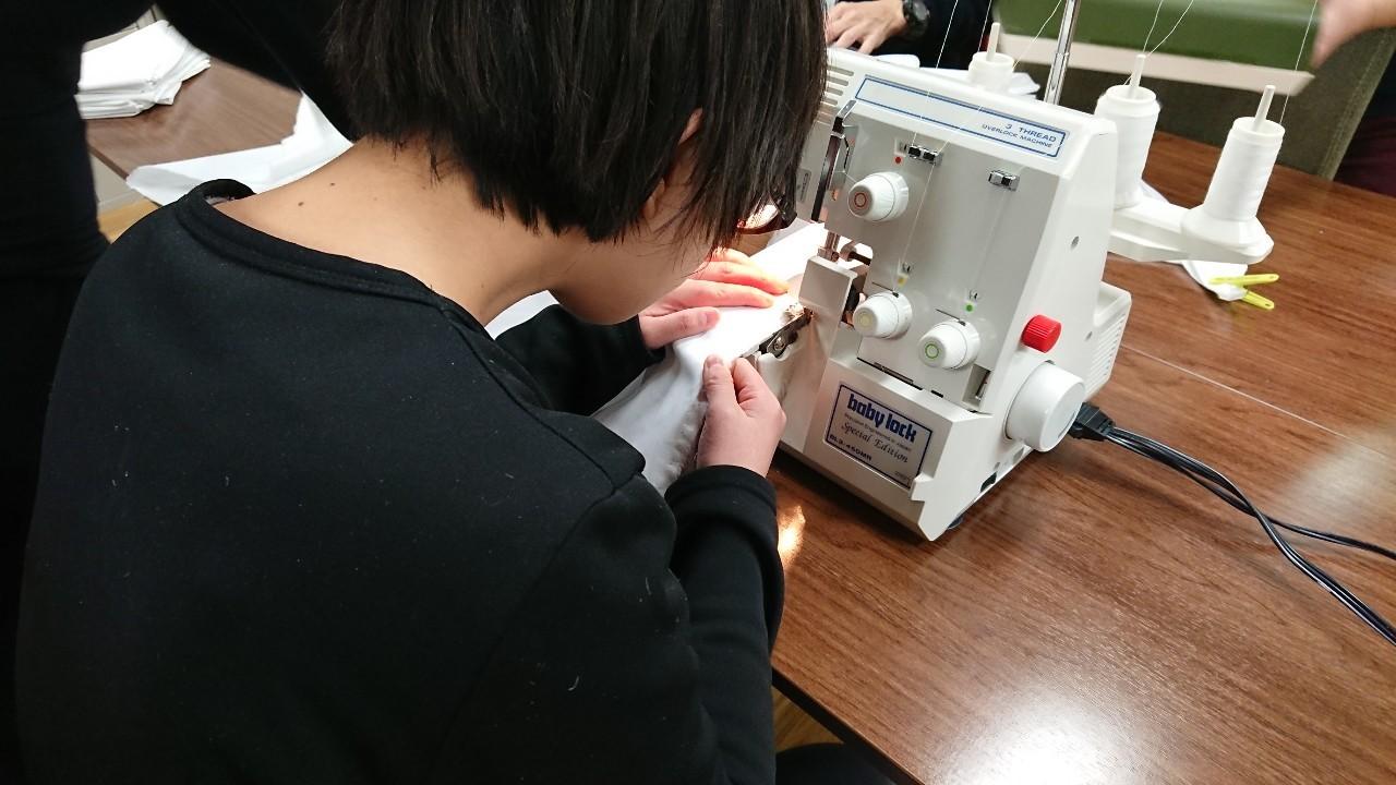 裁縫(さいほう)講座