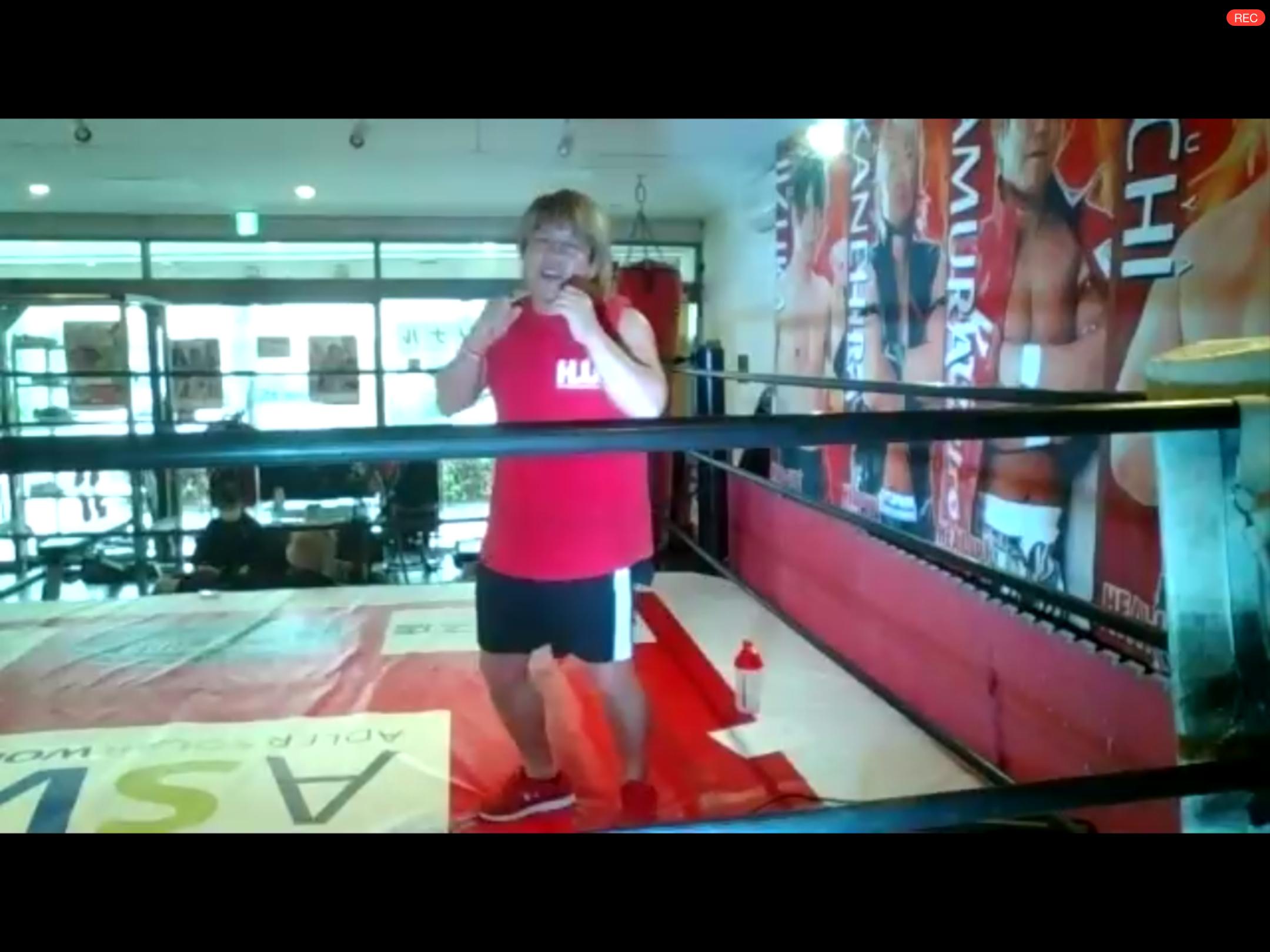 プロレス式トレーニングで運動不足を解消♪