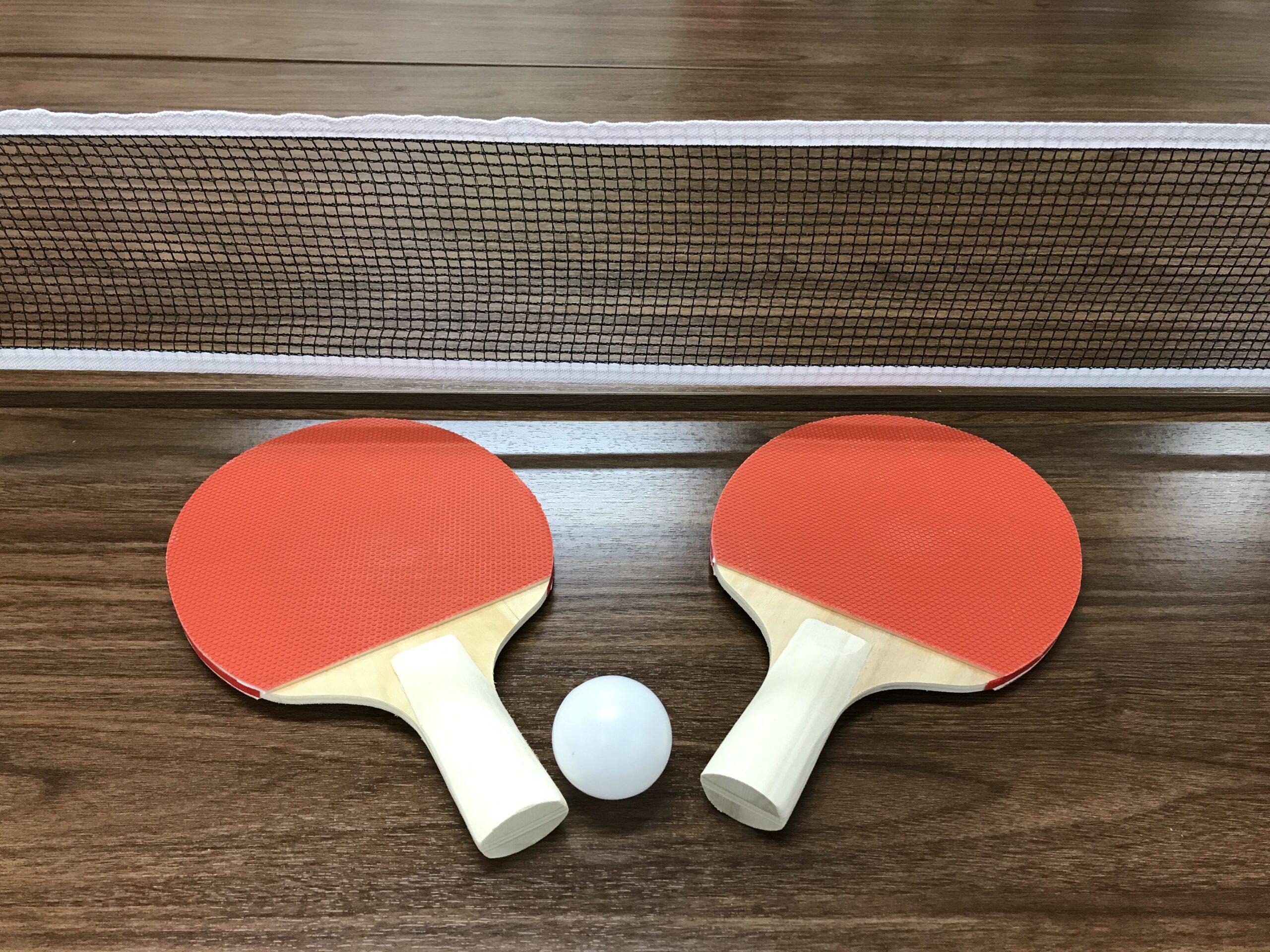卓球でストレスを発散しました♪