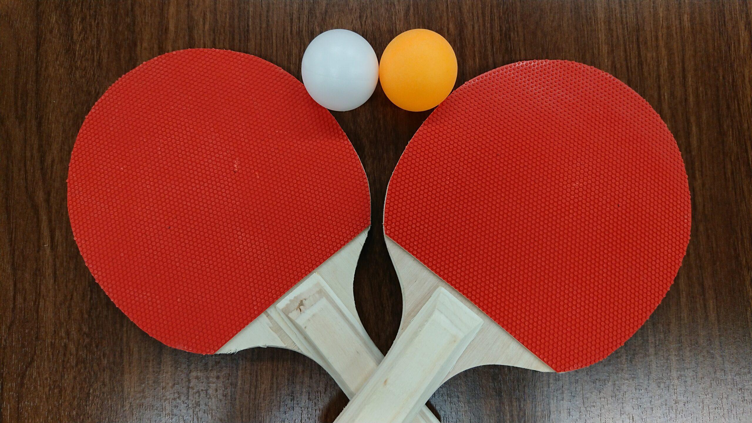 本日のイベントは「卓球大会🏓」
